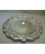 Chip & Dip Tray Diamond Flowers & Leaves Up Rai... - $12.95