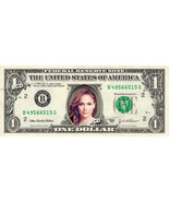 JENNIFER LOPEZ on REAL Dollar Bill -  Collectible Celebrity Cash Gift Money - £6.99 GBP