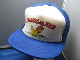 Hard-To-Find Tulare County Fair California Vintage Cap -Mesh, Snapback, ... - $9.85