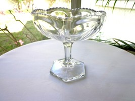 Heisey Open Clear Jelly Compote 1899-1944 - $23.76