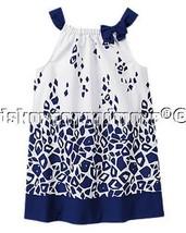 Gymboree Blue Safari 12 Giraffe Print Dress New... - $27.96