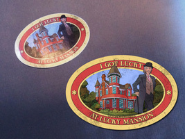 "Cheapass Games ""I Got Lucky at Lucky Mansion"" Travel Sticker - Freebie! - $0.00"
