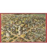 St Louis MO Postcard Aerial Linen BJs - $5.50