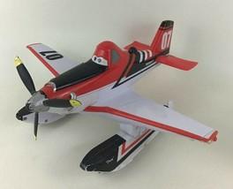 "Disney Planes Fire Rescue Blastin' Dusty Talking Airplane 13"" Thinkway Toys - $39.55"