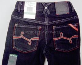 LRG LRGeans Boys Black Size 4 Jeans Elastic Waistband 5 pocket LRG logo NWT - $14.99