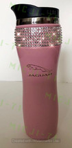 Jaguar (Pink) Stainless Steel Thermal Bling Mug Tumbler Cup Travel 14oz Made wit - $29.99