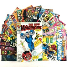 The New Warriors 16 Comic Book Lot Marvel VF Nova Firestar Turbo Speedba... - $29.65