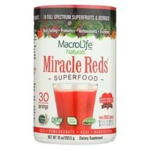 Macrolife Naturals Miracle Reds Berri - 10 Oz - $58.74