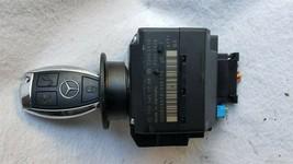 Mercedes Ignition Start Switch Module & Key Fob Keyless Entry Remote 2095451708