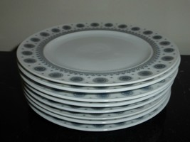 Rosenthal Tapio Wirkkala Ice Blossom 1960s Bread and Butter Plates Set of 8 - $149.00
