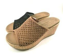 Skechers 32954 Luxe Foam Wedge Platform Slip On Sandals Choose Sz/Color - $49.00