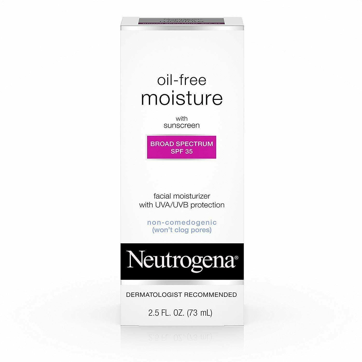 Primary image for Neutrogena Oil Free Daily Long Lasting Facial Moisturizer & Neck Cream - Oil Fre