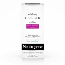 Neutrogena Oil Free Daily Long Lasting Facial Moisturizer & Neck Cream -... - $9.49