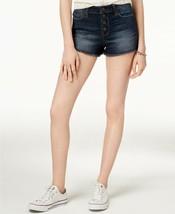 American Rag Juniors' Button-Fly Denim Shorts ar juan blue - $7.88