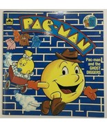 VTG Golden Book Western Publishing Pac-man And The Ghost Diggers 1983 - $11.75