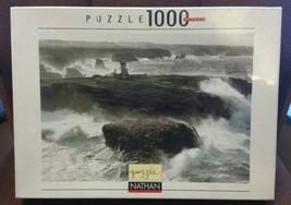Philip Plisson Collection Pointe des Poulains Lighthouse Puzzle Nathan 1... - $59.39