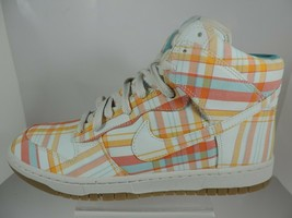 NIB NIKE  WOMNE'S  SHOES DUNK HI SKINNY PREM RETRO BASKETBALL SNEAKERS W... - $66.49