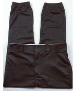 Rawlings Men's Baseball Softball Athletic Pants Size Large Solid Black S... - $20.05