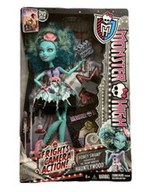 Monster High Frights Camera Action Honey Swamp Doll New! - $39.55