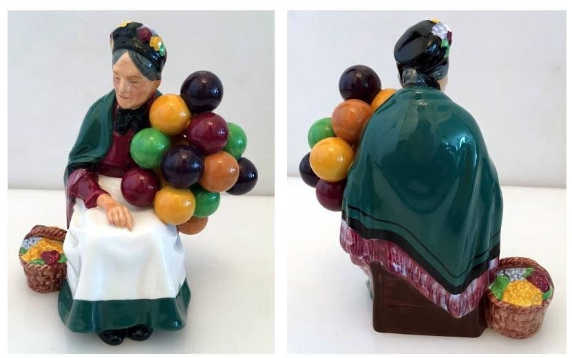 The Old Balloon Seller Royal Doulton Figurine HN 1315