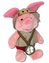 Disneys Animal Kingdom: Safari Piglet Plush (10) by Disney - $13.99