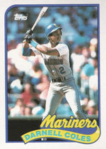 1989 Topps #738 Darnell Coles NM-MT Mariners - $0.79