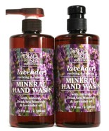2 Bottles Dead Sea Collection 16.9 Oz Lavender Revive & Calm Mineral Han... - $16.99