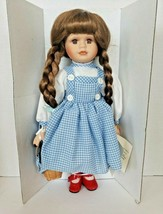 Camille Limited Collection Wizard of Oz Dorothy Porcelain Doll Figure New - $24.99