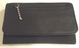 Mundi Accordian Microfiber Clutch Wallet,Black - $22.27