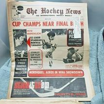 The Hockey News May 16 1975 Pete Mahovlich Rick MacLeish JP Parise - $7.91