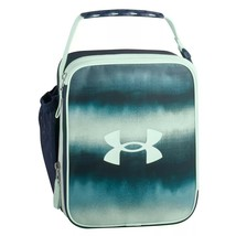 Thermos Under Armour Scrimmage Lunch Box Navy Mint molded plastic interi... - $22.77