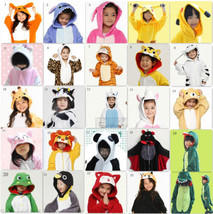 Hot  Kid Pajamas Unisex  Kigurumi Unisex Cosplay Animal Costume Onesie N... - $28.99
