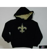 NFL New Orleans Saints HOODIE Boys/Girls Size Small 4 NWT - $17.01