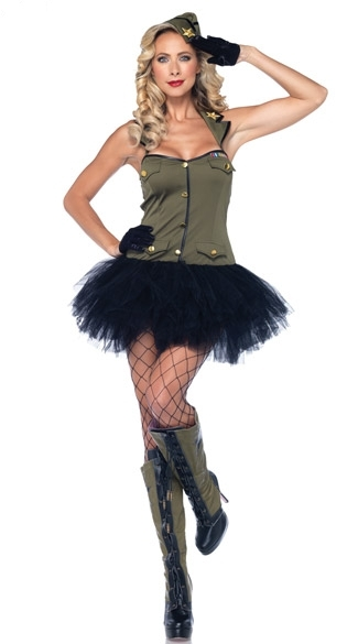 Pin Up Army Girl Halloween Costume And 50 Similar Items