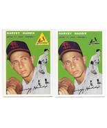 1954 Topps Archives St. Louis Cardinals Harvey Haddix #9 Gold & Regular ... - $1.28