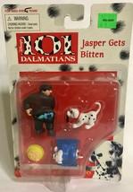 Mattel Arco Toys Disney 101 Dalmatians Jasper Gets Bitten Deluxe Pvc Playset - $12.94