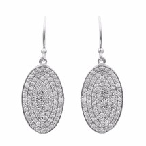 Exclusive Cubic Zirconia 925 Sterling Silver Earring Shine Jewelry SHER0801 - $26.67