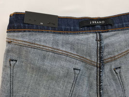 new J BRAND women jeans Jasper Patched JB001098 high rise crop 26 blue MSRP $298 image 12