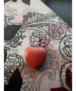"""Heart Pendant - Red - 0.75"""" Wide - $4.99"""