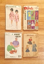 Vintage Sewing Patterns: McCalls, Simplicity, Kwik-Sew, Butterick: 60s and 70s image 2