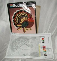 Bucilla Plastic Canvas 5983 Turkey Wall Decor Thanksgiving - $39.59