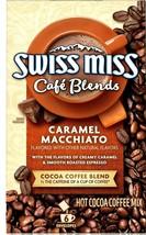 Swiss Miss Cafe Blends Caramel Macchiato&Cocoa Coffee Blend 6 Sachets x ... - $5.69