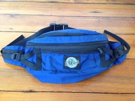 Eagle Creek Travel Gear Blue Black Nylon Convertible Waist Bag Backpack - $1,000.00