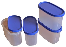Tupperware Modular Mates Oval 2 Container Set, 1.1 Litres, 4 Pieces - $39.99