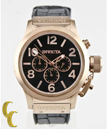 Men's Invicta Corduba Chronograph Black Dial Stainless Steel Watch Model... - $123.74