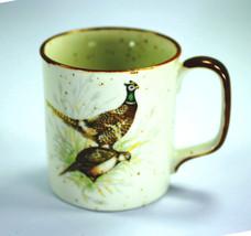 Otagiri Mug Cup Rustic Speckle Glaze Peacock Qu... - $12.00