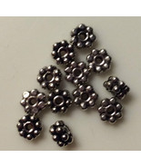 (12) New 925 Sterling Silver Bali Style Bead 5mm - $9.89