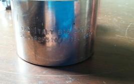 CMC Italy B16 2x4 3M Flange End Cap A182F316/F316 L 260M Stainless Steel 2pc image 2