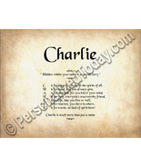 Charlie Hidden Within Your Name Is A Special St... - $8.95