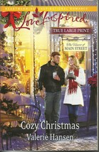 Cozy Christmas-Valerie Hansen(Love Inspired/The Heart of Main Street)Lar... - $3.00